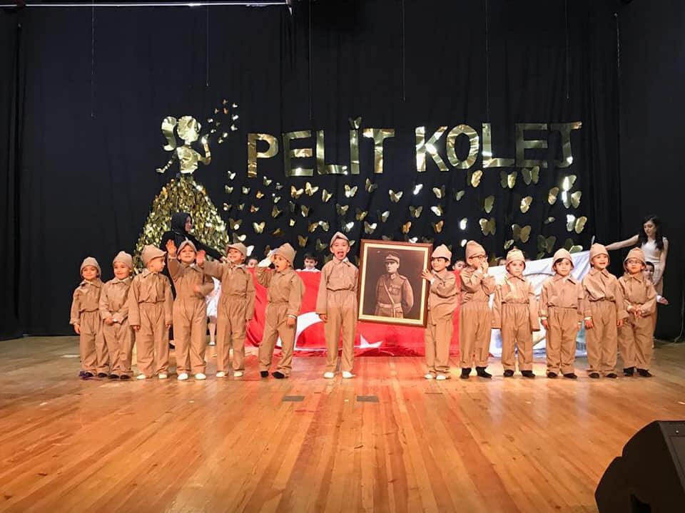 Pelit Kolej Yılsonu Gösterisi Düzenledi