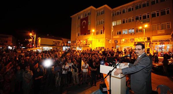 Enerji ve Tabii Kaynaklar Bakanı Fatih Dönmez'den Keskin'e Ziyaret