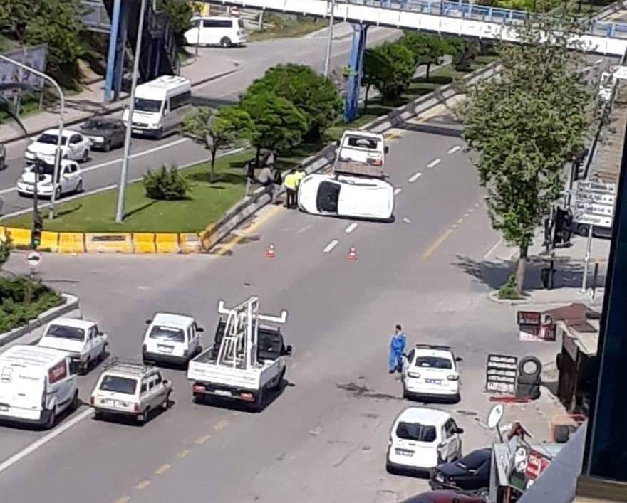 Kırıkkale'de Trafik Kazası