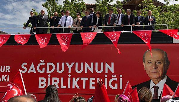 MHP Keskin'e Çıkarma Yaptı