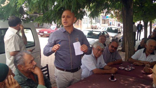 Ahmet Önal, Köyleri Ziyaret Ederek Çiftçinin Sorunlarını Dinledi