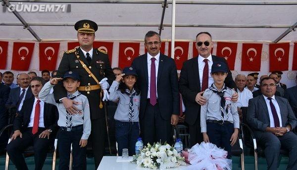 30 Ağustos Zafer Bayramı'nın 97.Yıldönümü Kırıkkale'de Kutlandı
