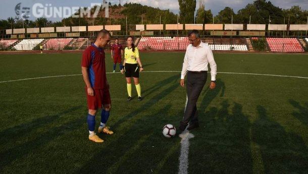 Kırıkkale'nin İl Oluşunun 30.Yılı Münasebetiyle Futbol Turnuvası Düzenlendi