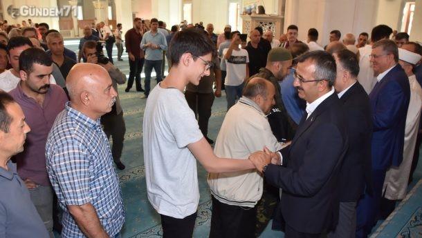 Kırıkkale'de Bayramlaşma Töreni Düzenlendi