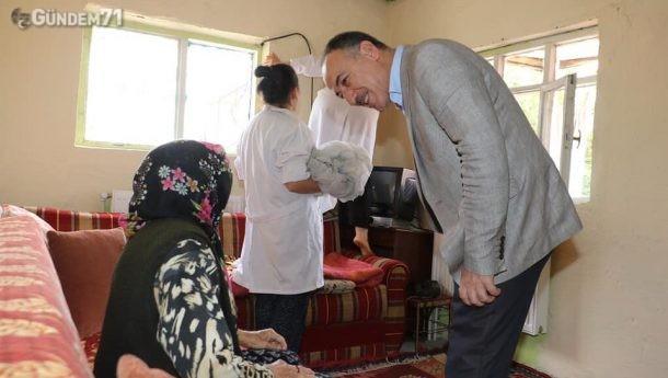 Kırıkkale Belediyesinden Yaşlı ve Bakıma Muhtaç Vatandaşlara Evde Temizlik Hizmeti