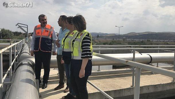 Çevre ve Şehircilik İl Müdürü Atar, Atık Su Tesisini Denetledi