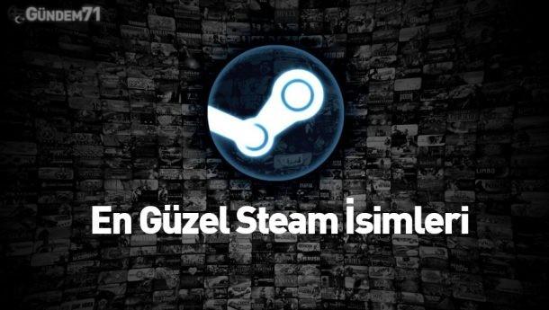En Güzel Steam İsimleri [Özel Liste]