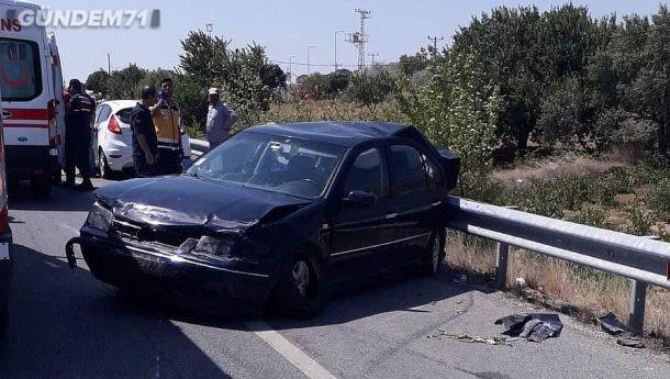 Kırıkkale'de Trafik Kazası: 8 Kişi Yaralandı