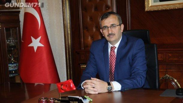 Kırıkkale Valisi Yunus Sezer'in Regaip Kandili Mesajı