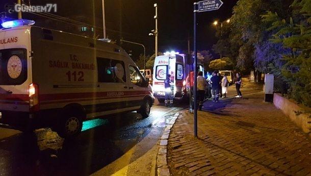 Rektörlük Kavşağı Trafik Kazası: 4 Yaralı