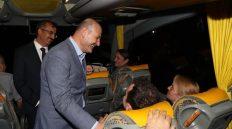 Süleyman Soylu, 43 İlin Geçiş Noktası Kırıkkale'de Trafik Denetimine Katıldı