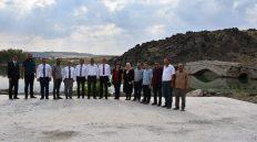 Vali Yunus Sezer Çeşnigir Kanyonu'nda İncelemelerde Bulundu
