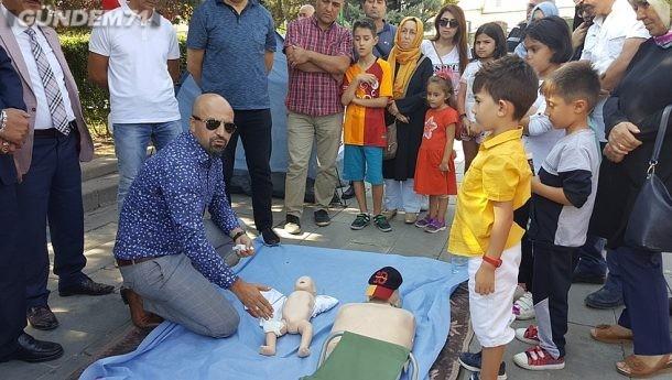 """Kırıkkale'de """"14 Eylül Dünya İlk Yardım Günü"""" Etkinlileri Düzenlendi"""