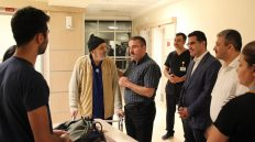 Kamu Hastaneleri Genel Müdürü Ataseven Yüksek İhtisas Hastanesi'ni Ziyaret Etti