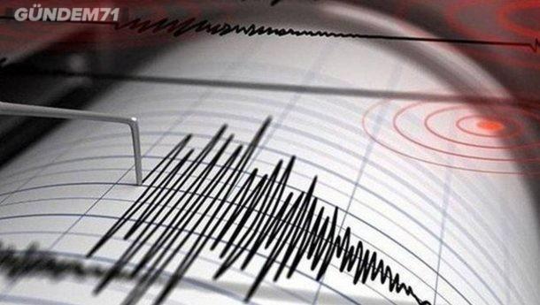 Çankırı'da Deprem Kırıkkale'de Hissedildi