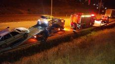 Kırıkkale'de Trafik Kazası: 2 Kişi Yaralandı