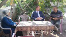 Keskin Kaymakamı Tekin Erdemir İlk Ziyaretini Şehit Ailesine Yaptı