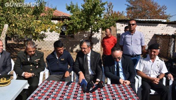 Vali Sezer ve Başkan Saygılı Yasin Koyuncu'yu Ziyaret Etti