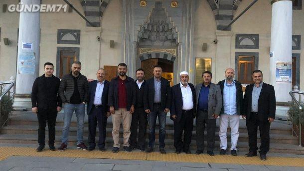 Kırıkkale ASKON Şubesi Sabah Namazında Fetih Süresi Okuttu