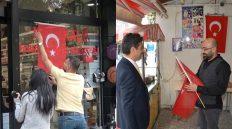 Kırıkkale Belediyesi'nden Barış Pınarı Harekatı'na Türk Bayraklı Destek