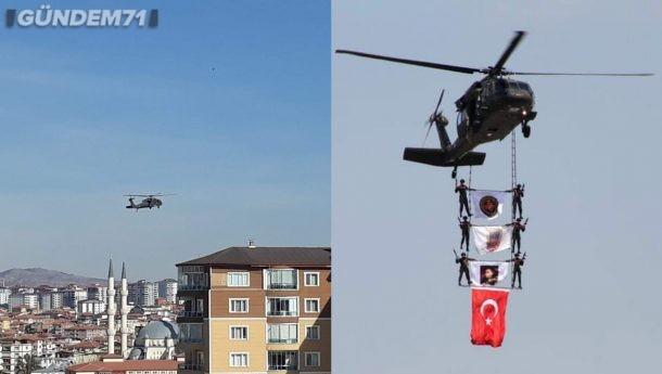 JÖAK Özel Hava Gösterisi Kırıkkale'de