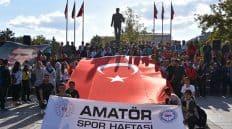 """""""Amatör Spor Haftası"""" Etkinlikleri Başladı"""