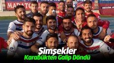Kırıkkale Büyük Anadoluspor Yaylacık Gençlikspor'u 4-0 Yendi