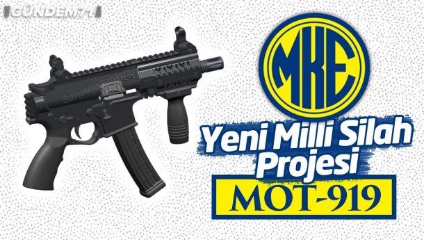 MKE'den Yeni Milli Silah Projesi: MOT-919