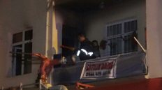 Kırıkkale'de Yangın: Yaşlı Çift Komşuları Sayesinde Kurtuldu