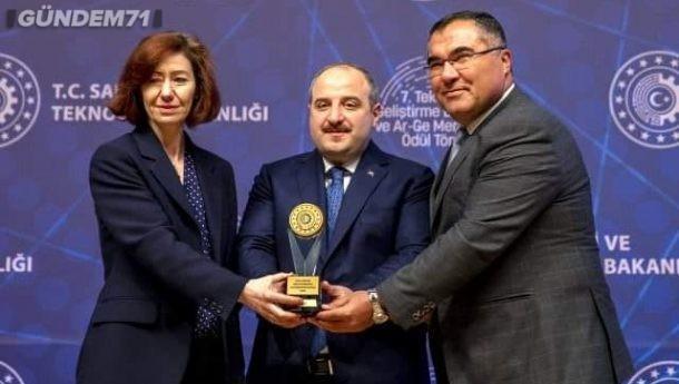 Kırıkkale Üniversitesi Teknopark, Türkiye'nin En Başarılı 3. Teknopark'ı Seçildi