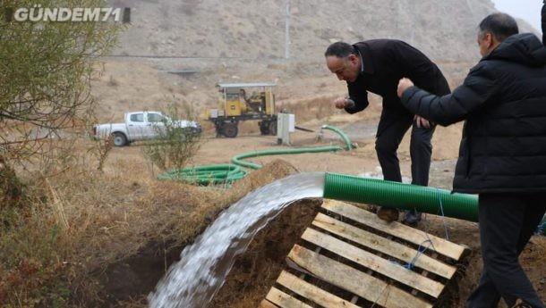 Kırıkkale'ye Alternatif Su Kaynağı
