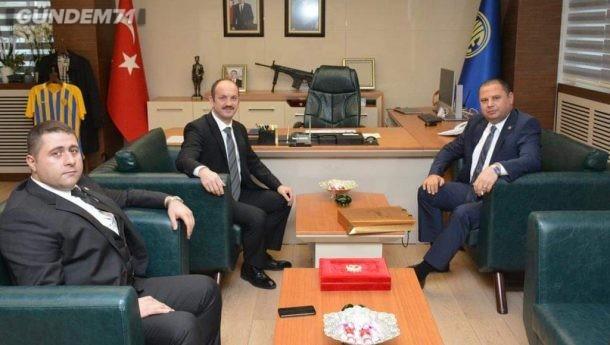 Halil Öztürk, MKEK Genel Müdürü Yasin Akdere'yi Ziyaret Etti