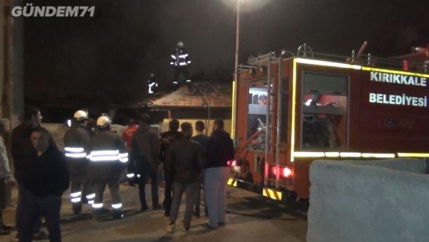 Kırıkkale'de Ev Yangını: 1'i Bebek 4 Kişi Dumandan Etkilendi