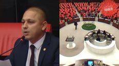 Ahmet Önal, Kırıkkale'deki Köprü ve Kavşak Sorunları Hakkında TBMM'de Konuştu