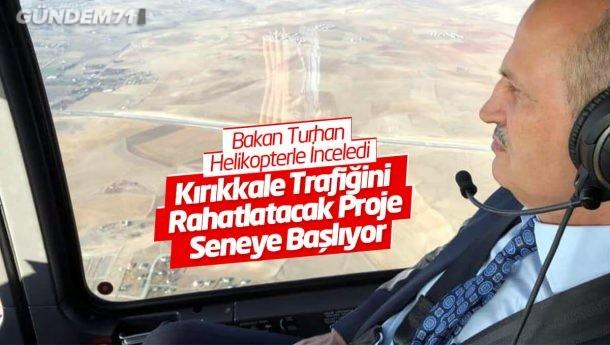 Kırıkkale Trafiğini Rahatlatacak Proje Seneye Başlıyor