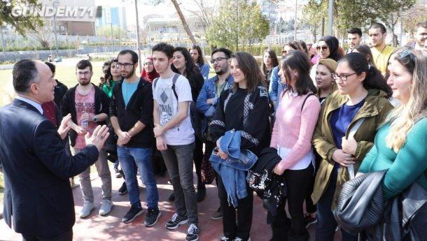 Başkan Saygılı'dan; Gençler Yönetiyor Proje Yarışması