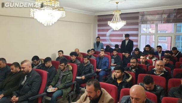 """Kırıkkale Ülkü Ocakları """"Mevlid-i Şerif"""" Okuttu"""