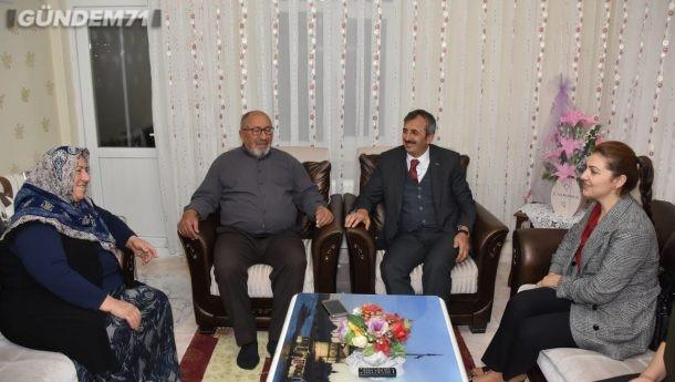 Vali Sezer, Şehit Osman Kablan'ın Ailesini Ziyaret Etti
