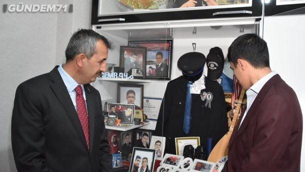 Vali Sezer'den Şehidimiz Emrah Pekdoğan'ın Baba Ocağına Ziyaret