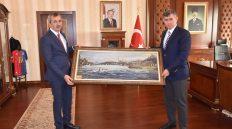 Türkiye Barolar Birliği Başkanı Metin Feyzioğlu Vali Sezer'i Ziyaret Etti