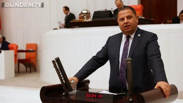 MHP'li Öztürk Kırıkkale'nin İçme Suyunu Sordu