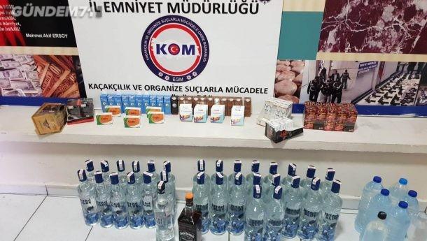 Kırıkkale Emniyetinden Yılbaşı Öncesi Sahte İçki Operasyonu: 4 Şüpheli Gözaltına Alındı