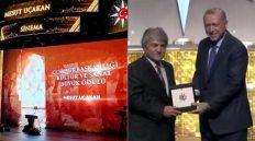 Cumhurbaşkanlığı Kültür ve Sanat Büyük Ödülünü Sinema Dalında Hemşerimiz Mesut Uçakan Aldı