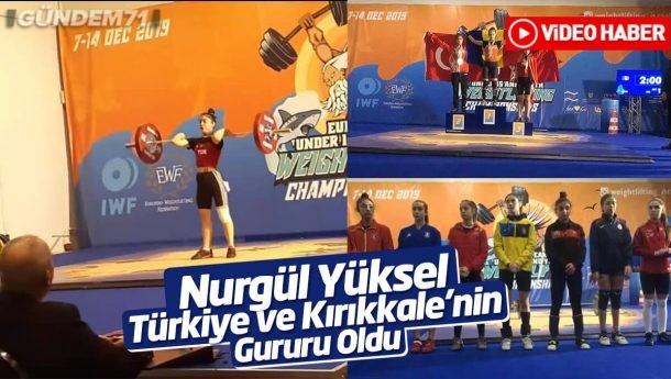 75. Yıl Ortaokulu Spor Kulübü Sporcumuz Nurgül Yüksel; Avrupa 3.sü Oldu