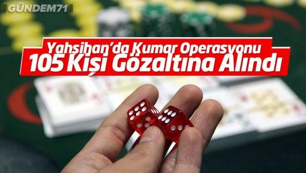 Düğün Salonuna Kumar Operasyonu: 105 Kişi Gözaltına Alındı
