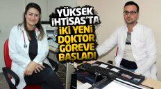 Kırıkkale Yüksek İhtisas Hastanesi'nde İki Yeni Doktor Göreve Başladı