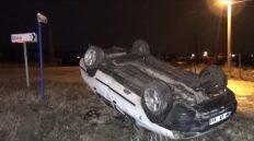 Trafik Kazası: 2 Kişi Yaralandı