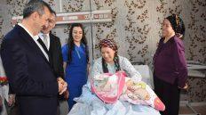 Kırıkkale'de 2020 Yılının İlk Bebekleri Dünyaya Geldi