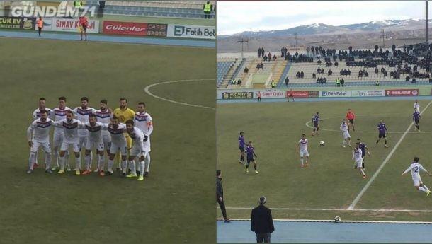 Kırıkkale Büyük Anadoluspor Kdz Ereğli Belediyespor'u 1-0 Yendi