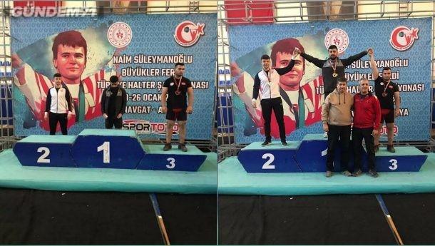 Türkiye Halter Şampiyonasında Hakan Şükrü Kurnaz'dan Kırıkkale'yi Gururlandıran Başarı